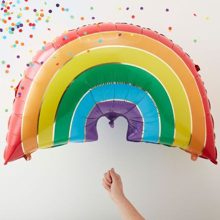 Giant Rainbow Balloon